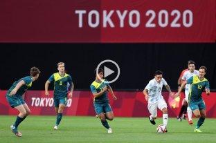 Juegos Olímpicos: Argentina perdió 2 a 0 ante Australia
