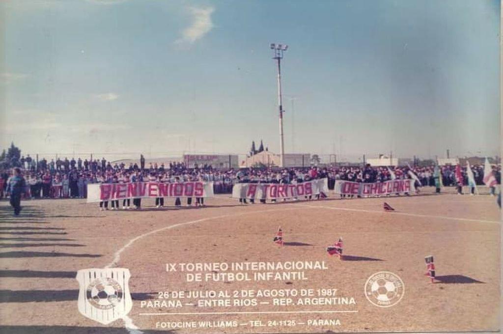 Foto del recuerdo: IX Torneo de Futbol Infantil en Paraná Entre Ríos.