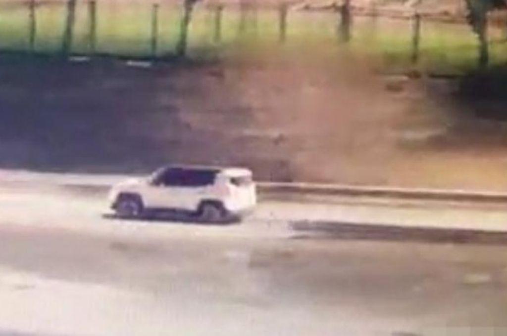 Captura del video de las cámaras de vigilancia. Crédito: Policía de la provincia de Córdoba
