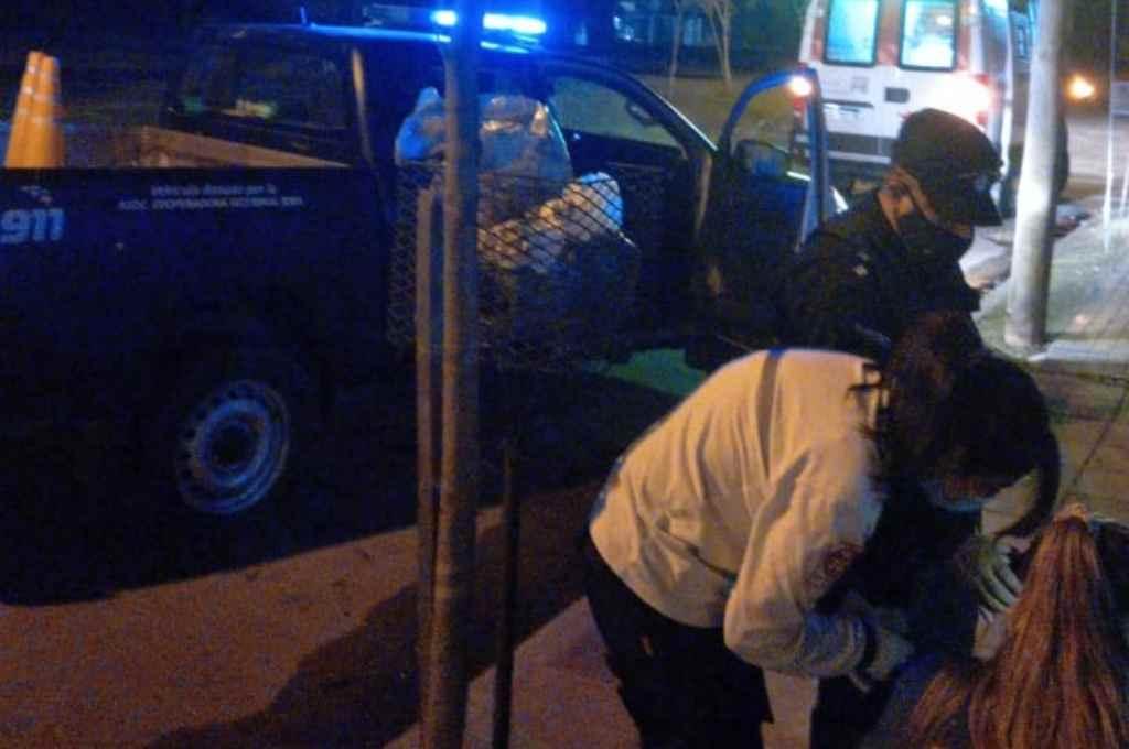 El grave suceso ocurrió a pocos metros de la zona donde el fin de semana una mujer fuera atacada por