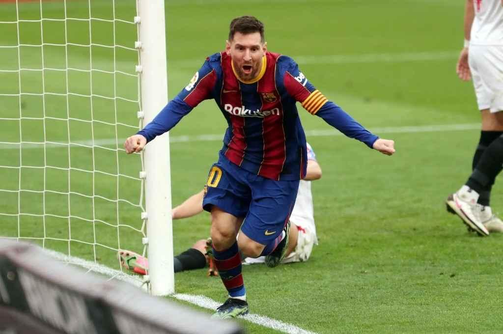 Messi muy cerca de seguir en Barcelona.   Crédito: Gentileza