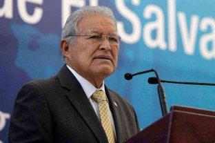 El Salvador: ordenaron la detención del expresidente Salvador Sánchez Cerén
