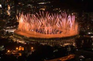 Las mejores fotos de la ceremonia inaugural de los Juegos Olímpicos