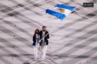 Video: así fue el ingreso de Argentina a la ceremonia inaugural de los Juegos Olímpicos -  -