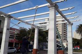 El municipio intensifica labores en sectores verdes y espacios comunes en Rafaela