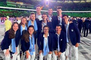 Los santafesinos dijeron presente en la ceremonia inaugural de los Juegos Olímpicos -  -