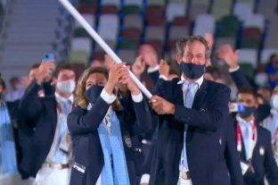 El mundo reacciona al ingreso de la delegación olímpica argentina -