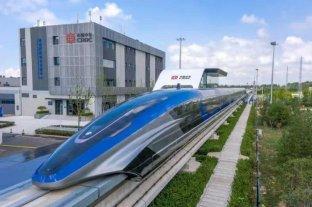 China presenta el tren Maglev, el más veloz del mundo, alcanza 600 k/h