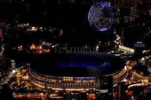 Impactante show de drones en la apertura de los Juegos Olímpicos