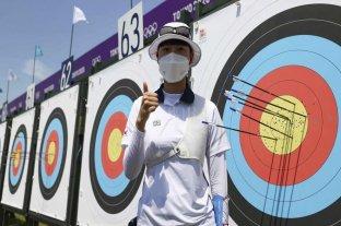 San An, de Corea del Sur, primer récord en Tokio 2020