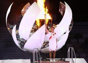 Naomi Osaka, la tenista que encendió el pebetero