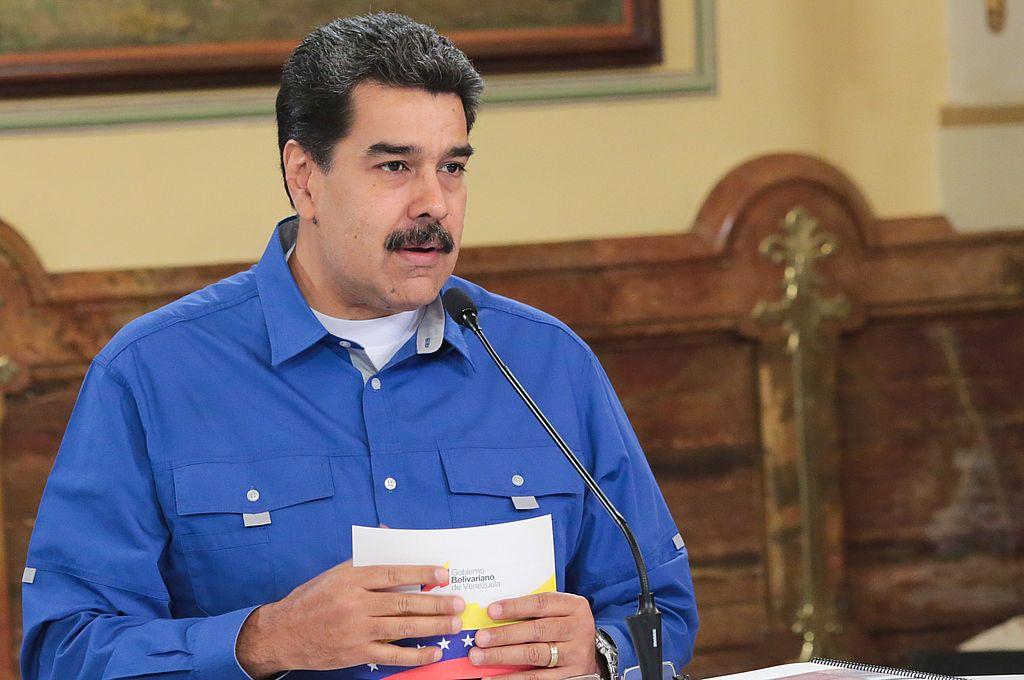 Crédito: Xinhua/Presidencia de Venezuela