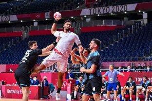 Handball: Los Gladiadores perdieron por 33 a 27 ante Francia en la primera fecha del grupo A