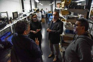 Costamagna valoró la creación de empleo industrial y los caminos de la ruralidad