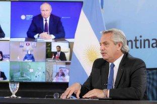 """Argentina y Rusia dicen que resolverán los problemas """"de manera positiva"""""""