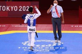 Taekwondo: Lucas Guzmán consiguió una victoria aplastante y tendrá dos peleas por una medalla -  -