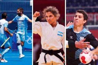 Juegos Olímpicos: lo que pasó en la jornada 1 -  -