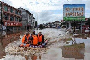 Asciende a 56 el número de muertos por las inundaciones en China