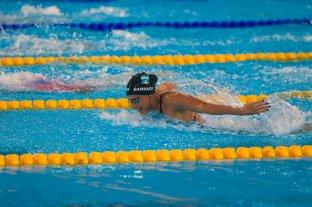 Viginia Bardach quedó eliminada en los 400 metros combinados de natación