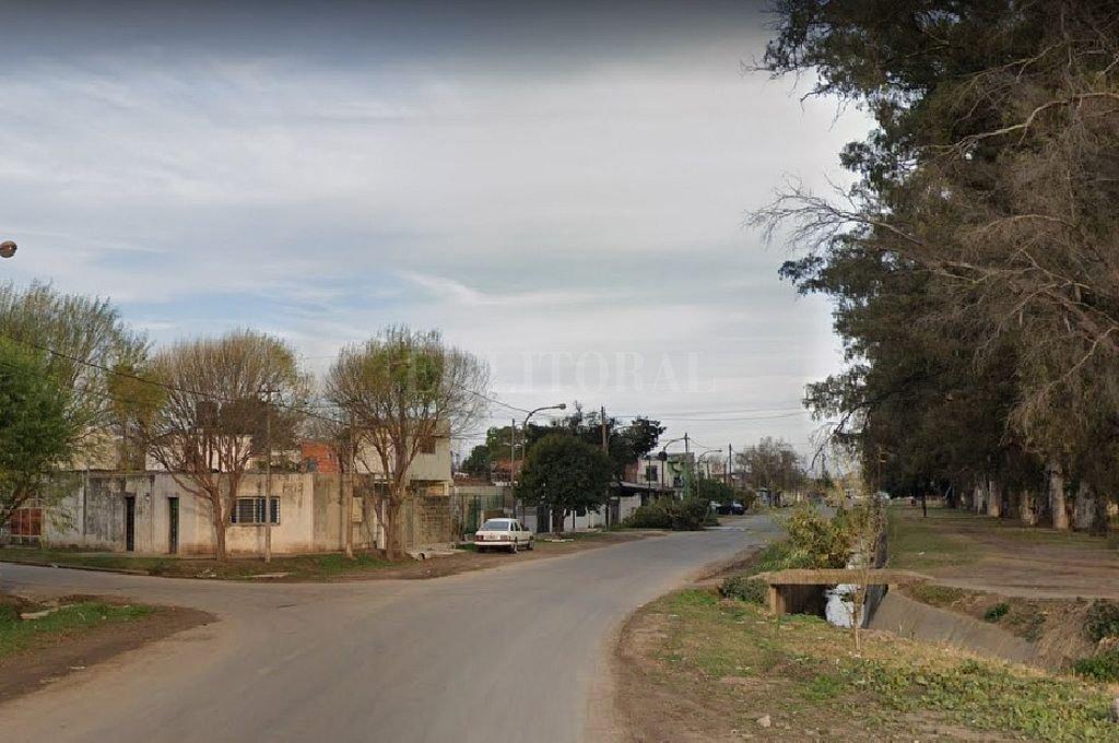 Intersección de las calles Liniers y Caseros. Crédito: Captura digital