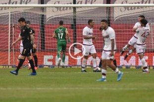 Video: mirá los goles de Colón 1 - Lanús 4