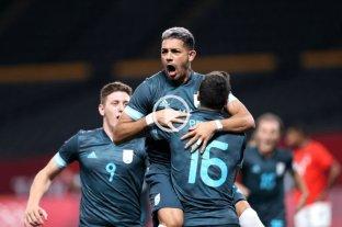 La Selección Argentina le ganó a Egipto y sigue en carrera en los Juegos Olímpicos -  -