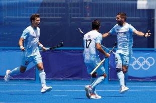 Los Leones derrotaron a Japón y comenzaron los Juegos Olímpicos con el pie derecho