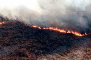 Focos de incendio activos en las provincias de Santa Fe, Santiago del Estero y La Rioja