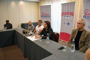 """Betina Florito: """"Conformamos una lista de unidad con representación en la provincia"""""""