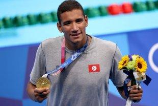 Un tunecino de 18 años conquistó el oro olímpico en los 400 metros libres
