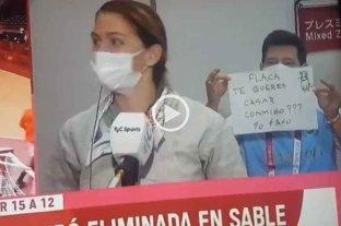 A María Belén Pérez Maurice le pidieron matrimonio en vivo tras ser eliminada en Esgrima