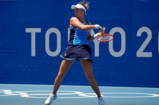 Nadia Podoroska venció a la rusa Ekaterina Aleksandrova y clasificó a octavos de final