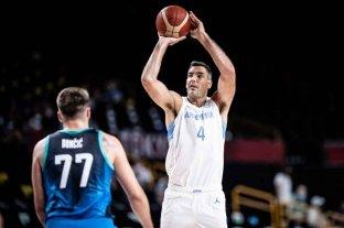 La selección Argentina de básquet no pudo con un Doncic imparable y perdió ante Eslovenia en el debut