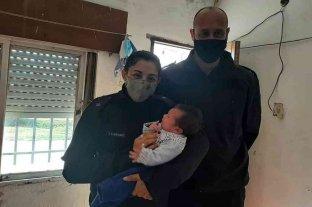 Héroes: policías de Chabás salvaron a un bebé con maniobras de RCP