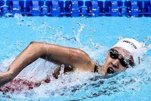Delfi Pignatiello quedó afuera de los 1500 metros libres
