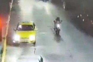 Video: persecusión y detención de un motochorro en Córdoba