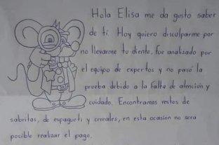 """La dura respuesta del """"Ratón Pérez"""" a una niña"""