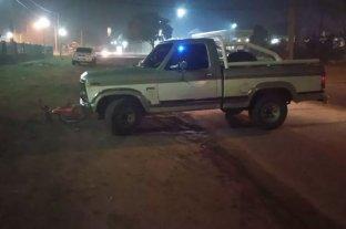 Entre Ríos: atropelló a una ciclista con una camioneta y el test de alcoholemia le dio 2.51