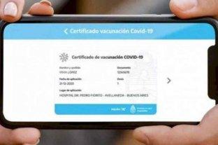 La provincia de Buenos Aires incorpora el pasaporte sanitario