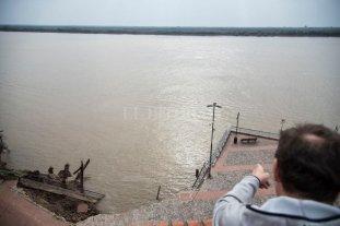Defensa Civil analiza la costanera rosarina desde Costa Alta a la Zona Franca