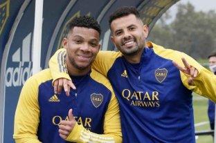 Cardona y Fabra concentran en Boca y podrían volver al equipo ante San Lorenzo
