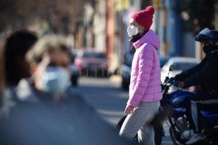 Martes frío y despejado en la ciudad de Santa Fe