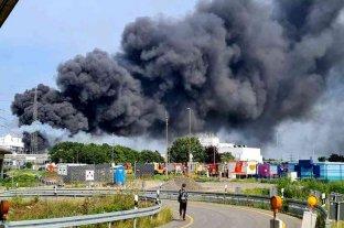 Alemania: varios heridos dejó una gran explosión en las instalaciones de la farmacéutica Bayer