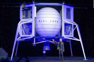Bezos ofrece US$ 2.000 millones a la NASA por la futura sonda lunar