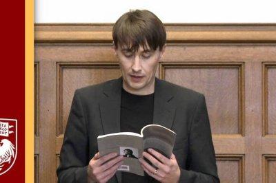 Aleš Šteger: el poeta del océano infinito de las palabras