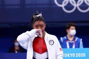 Tokio 2020: Simone Biles se retiró de la final de gimnasia artística por equipos por un problema médico