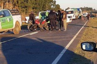 Dos fallecidos tras el choque de dos motos en Corrientes