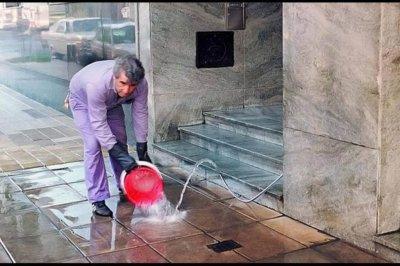 Campaña por el uso responsable del agua del gremio de encargados de edificio