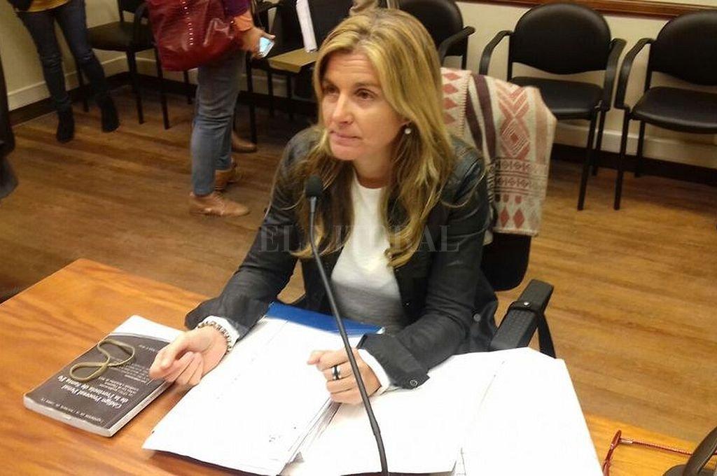 Fiscal Ana Laura Gioria. Crédito: Archivo El Litoral