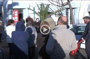 Protesta de vecinos de Guadalupe frente a la seccional octava por hechos de inseguridad